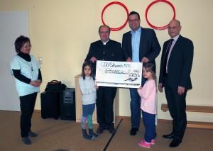 Spendenübergabe Feldstadtmäuse